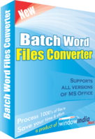 Batch Word Files Converter – Exclusive Coupon