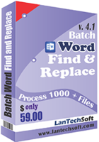 Batch Word Find & Replace Coupon
