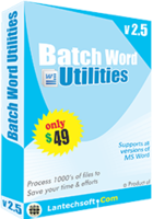 LantechSoft – Batch Word Utilities Coupon