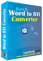 Batch Word to RTF Converter Coupon