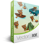 Bear Vector Pack – VectorVice – 15% Sale