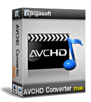 Bigasoft AVCHD Converter for Mac Coupon – 30%
