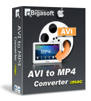 Bigasoft AVI to MP4 Converter for Mac Coupon – 10%