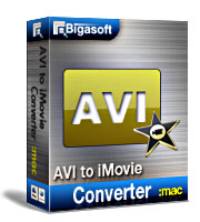 Bigasoft AVI to iMovie Converter for Mac Coupon – 20%