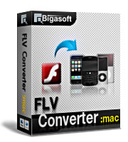 Bigasoft FLV Converter for Mac Coupon – 15%