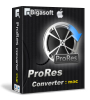Bigasoft ProRes Converter for Mac Coupon Code – 30%