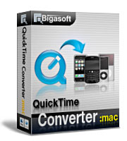 Bigasoft QuickTime Converter for Mac Coupon – 20%