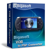 Bigasoft VOB to PSP Converter Coupon – 30%