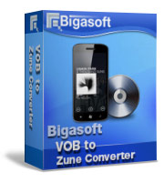 Bigasoft VOB to Zune Converter Coupon – 5%