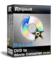 Bigasoft VOB to iMovie Converter for Mac OS Coupon – 30%