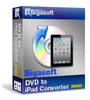 Bigasoft VOB to iPad Converter for Mac OS Coupon – 30%