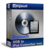 Bigasoft VOB to iPad Converter for Mac Coupon – 30%
