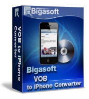 Bigasoft VOB to iPhone Converter Coupon – 15%