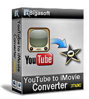 Bigasoft YouTube to iMovie Converter Coupon Code – 30%
