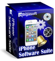 Bigasoft iPhone Software Suite Coupon Code – 5%