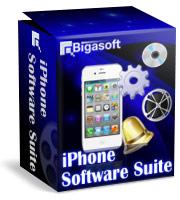 Bigasoft iPhone Software Suite Coupon – 15%