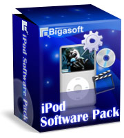 Bigasoft iPod Software Pack Coupon – 15%
