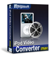 Bigasoft iPod Video Converter for Mac Coupon – 20%