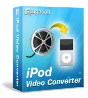 Bigasoft iPod Video Converter Coupon Code – 30%