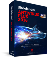 Bitdefender Antivirus Plus 2016 (1 Year 3 Users) Coupon