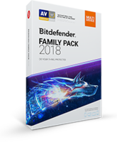 Bitdefender Family Pack 2018 – Exclusive 15 Off Coupon