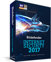 Bitdefender Bitdefender Internet Security 2017 Coupon Sale
