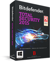 Bitdefender Total Security 2015 – Exclusive 15% off Discount