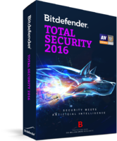 15 Percent – Bitdefender Total Security 2016 (1 Year 3 Users)