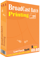 LantechSoft BroadCast Batch Printing Coupons