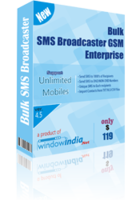 Bulk SMS Broadcaster GSM Enterprise Coupon Sale