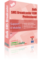 Bulk SMS Broadcaster GSM Professional Coupon Code