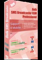 Bulk SMS Broadcaster GSM Professional Coupon Code