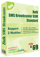 Bulk SMS Broadcaster GSM Standard Coupon