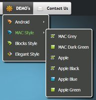 CSS3 Menu for Mac – Single Website License – 15% Discount