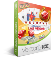 Casino Gambling Vector Pack – VectorVice Coupons
