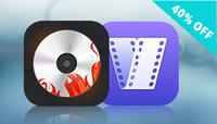 Cisdem DVDBurner and VideoConverter Bundle for Mac Coupon