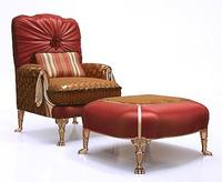 Exclusive Classic Armchair with Ottoman Coupon Code