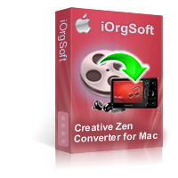 Creative Zen Video Converter for Mac Coupon Code – 50%