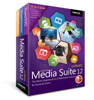 CyberLink Media Suite 12 Ultimate – Exclusive Coupons