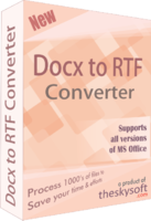 DOCX TO RTF Converter Coupons