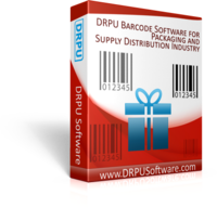 DRPU Packaging Supply and Distribution Industry Barcodes Coupon