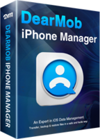 DearMob iPhone Manager – 1 Year 1Mac Coupon