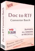 Window India Doc to RTF Converter Batch Coupon
