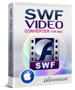 Doremisoft Mac SWF Video Converter Coupon – $60 OFF