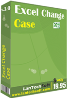 LantechSoft – Excel Change Case Coupon Code