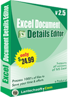 LantechSoft Excel Document Details Editor Coupon