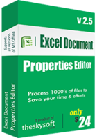 TheSkySoft – Excel Document Properties Editor Coupon Deal