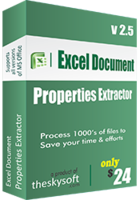 Exclusive Excel Document Properties Extractor Coupon Code
