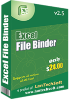 LantechSoft – Excel File Binder Coupons
