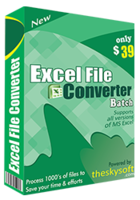 TheSkySoft – Excel File Converter Batch Coupon